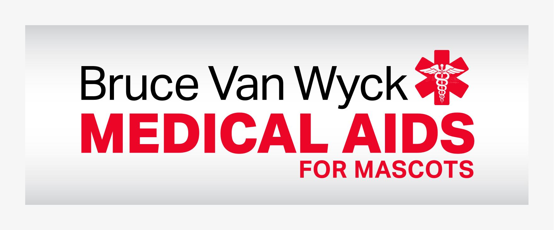 Mascots: Vendor Booth Banner Medical Aids