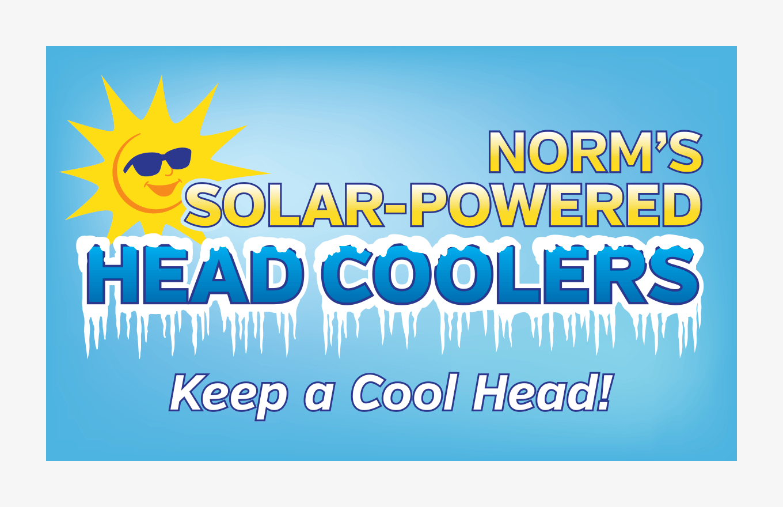 Mascots: Vendor Booth Banner Head Coolers