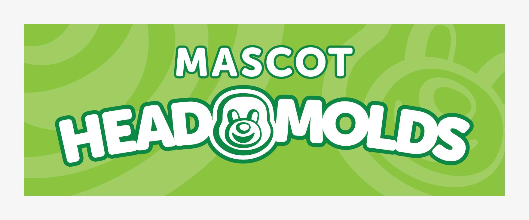 Mascots: Vendor Booth Banner Head Molds