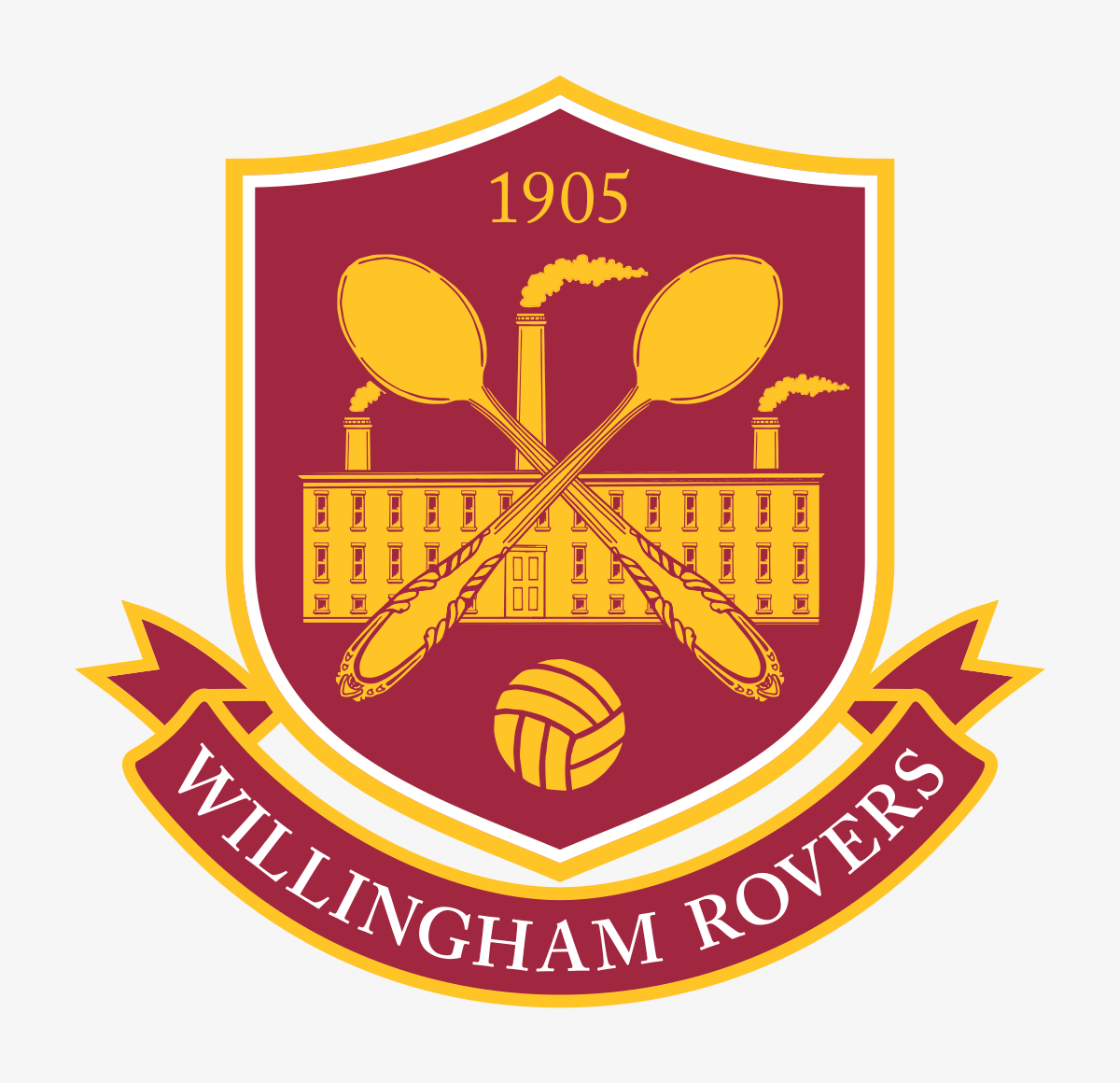 Mascots: Rovers Team Logo