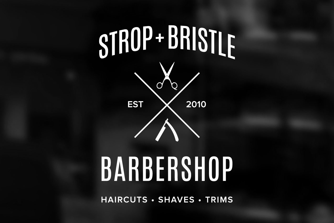 barbershop logo sign