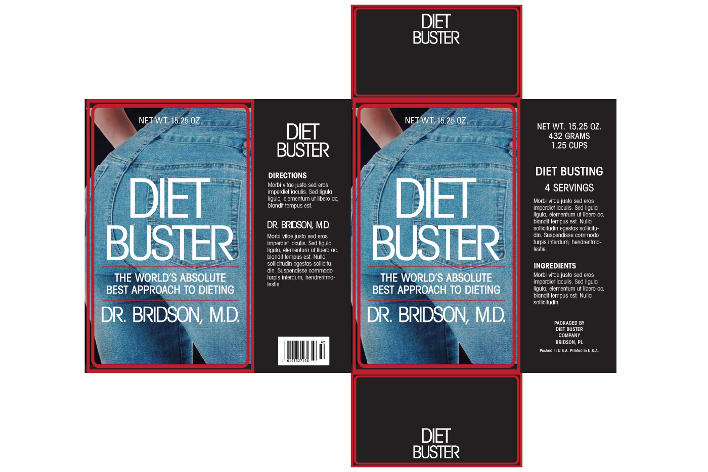 diet buster box graphic