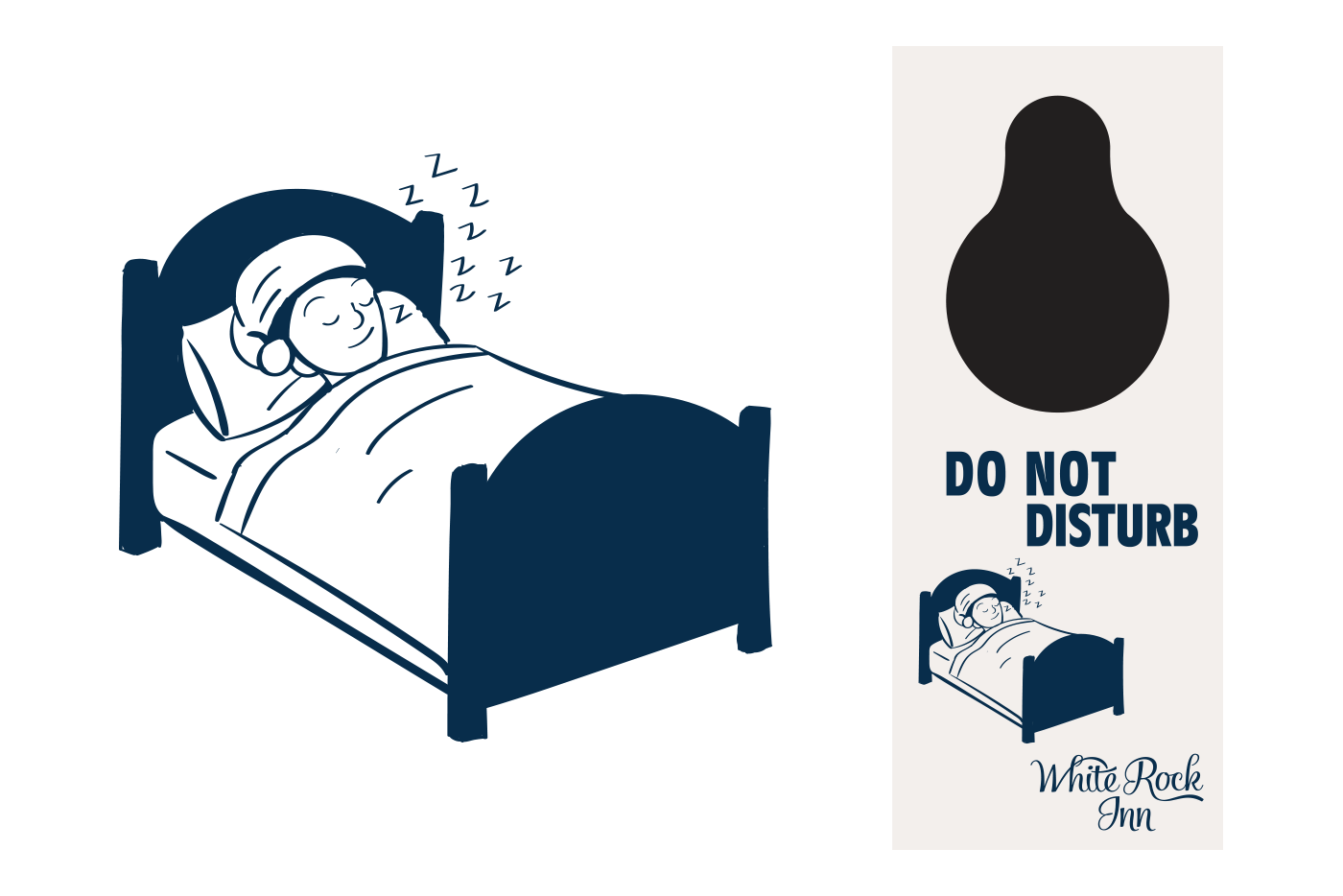 do not disturb sign graphic