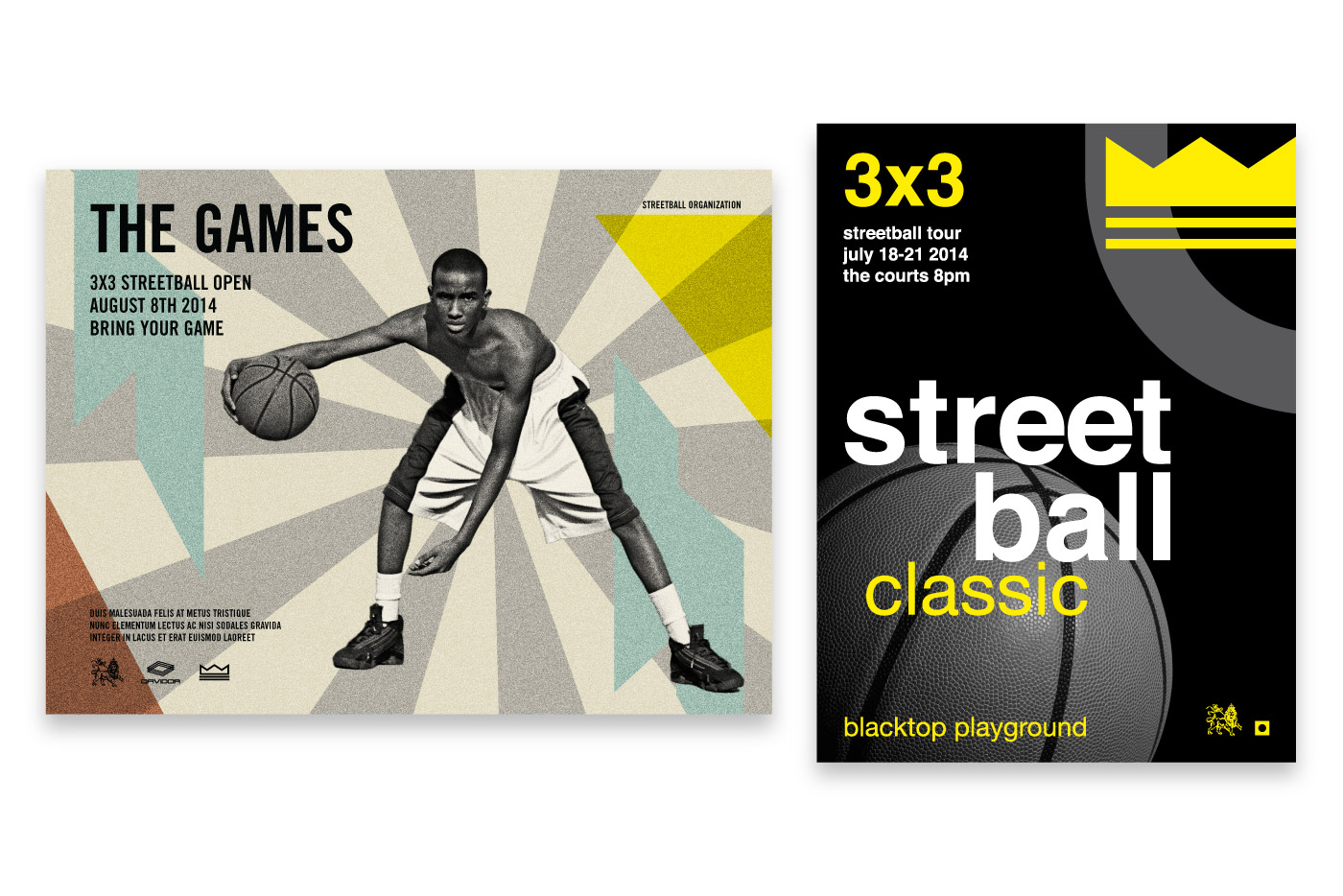 basketball posters graphics