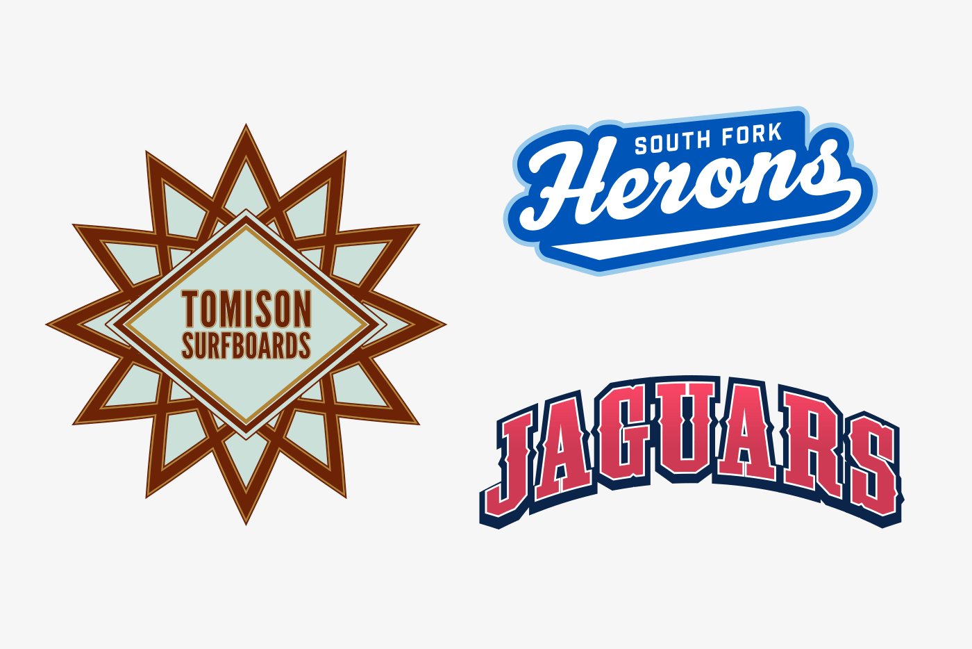 Sports Logos for TV Commercials