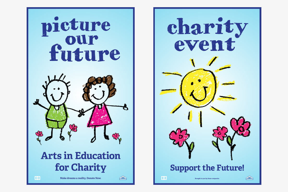 kids charity posters