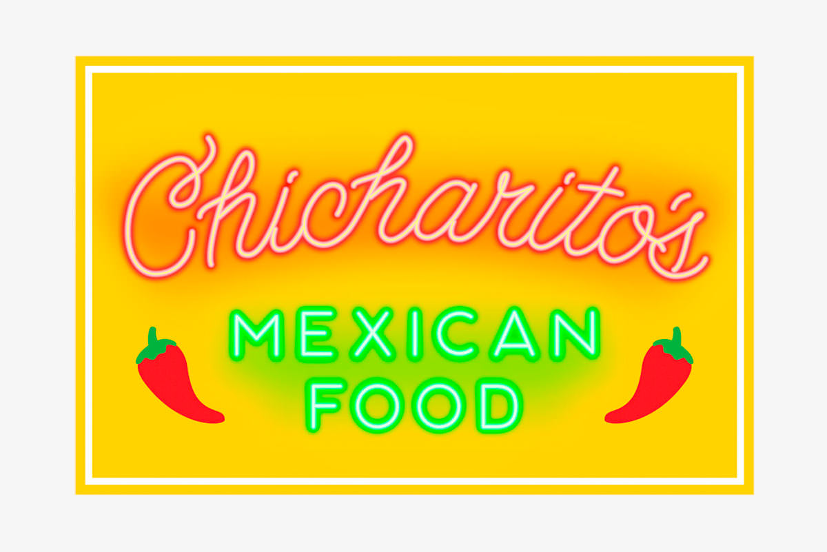 mascots chicharitos sign