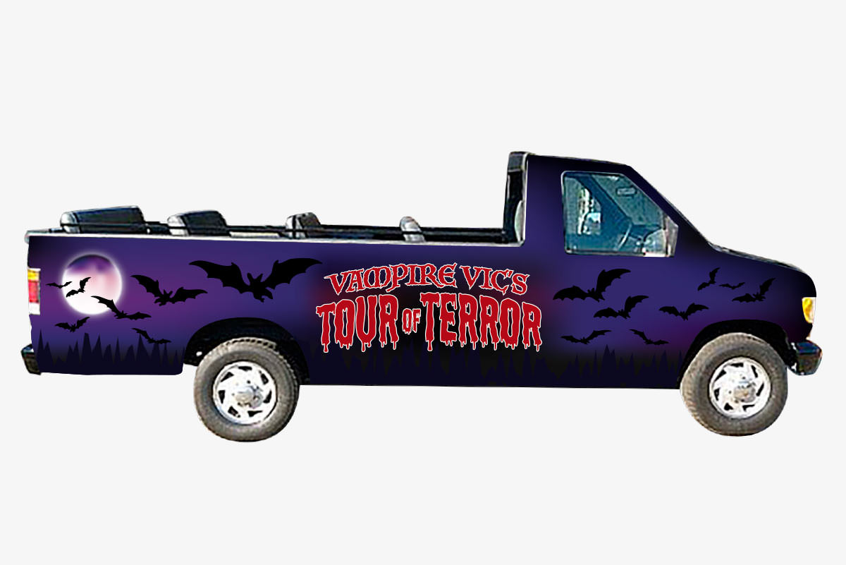 tour of terror van