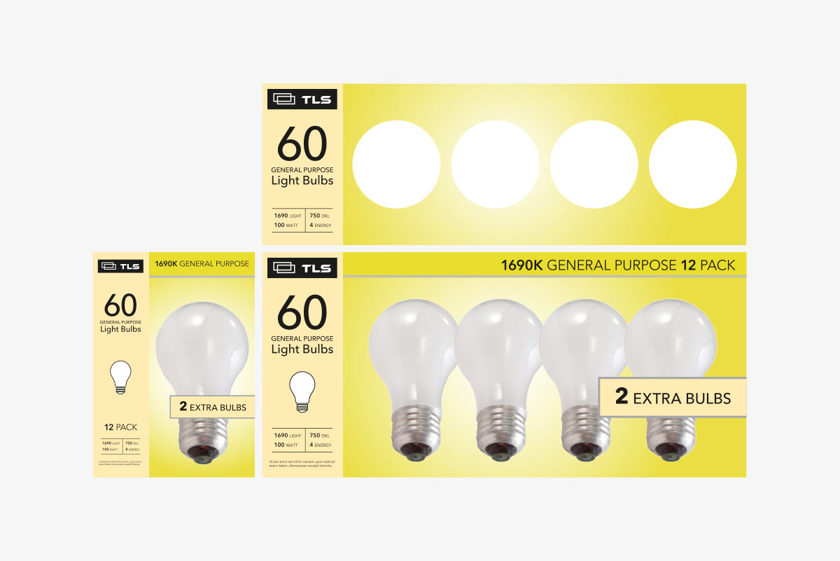 light bulb packaging