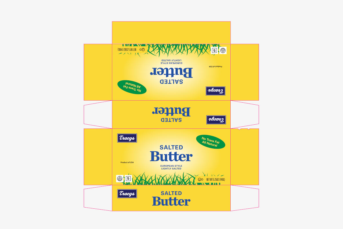 butter box packaging