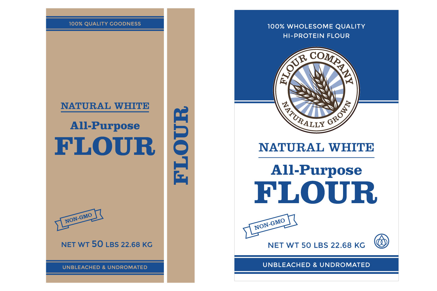 flour package graphics