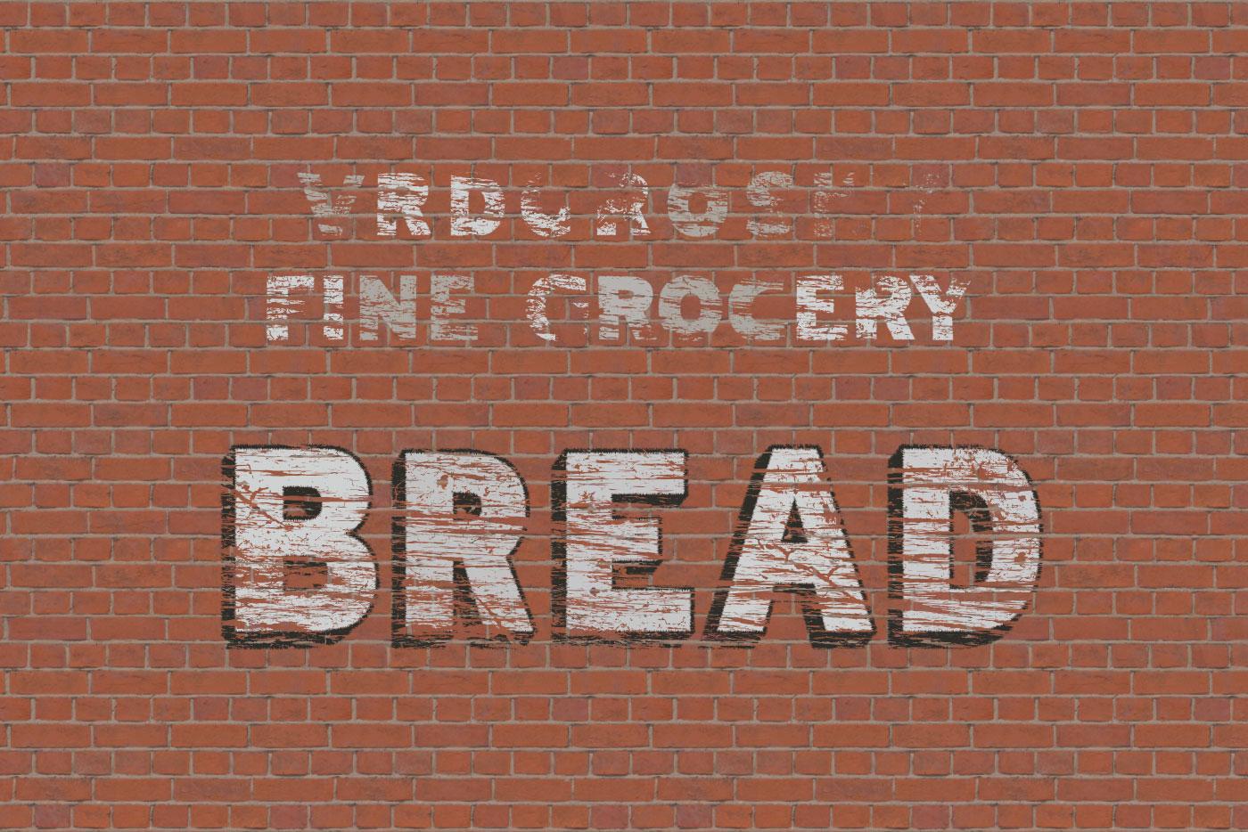 aged bread graphic