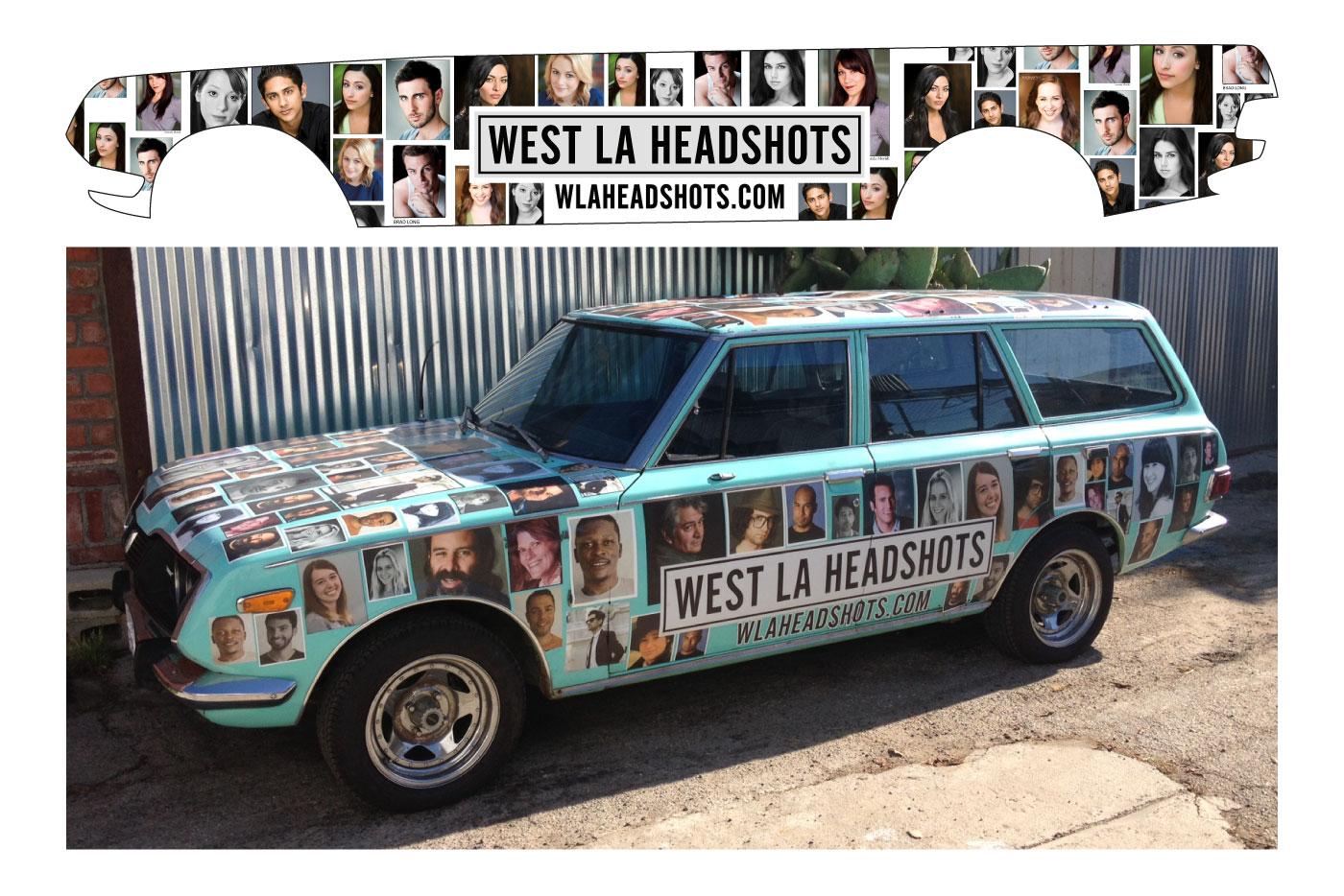Signage Spout Creative - Car signage