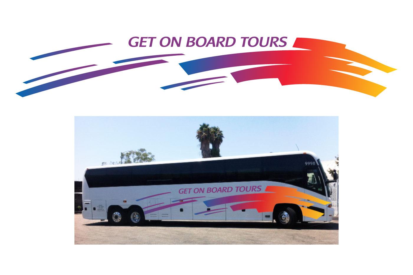 tour bus graphic
